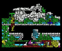 Inhumanos, Los (1990, MSX, Delta)