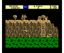 Ghost'n Goblins (2008, MSX, Amusement Factory)