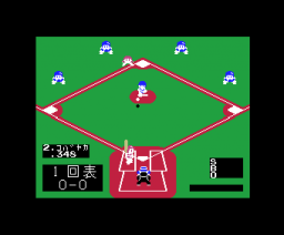 Baseball Craze (1985, MSX, Hudson Soft)
