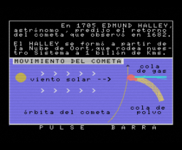 Cometa Halley (MSX, Iveson Software)