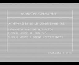 Compra y Vende (1985, MSX, Elisenda Arocas & Pedro Marqués)