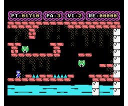 Yesod (1987, MSX, A.G.D., Unicornio Soft)