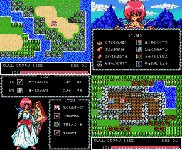 Silviana (1989, MSX2, Pack-In-Video)