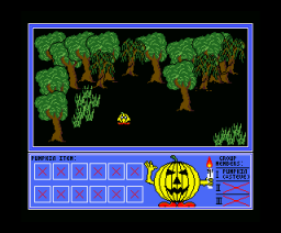 Pumpkin Adventure I (1992, MSX2, Umax)