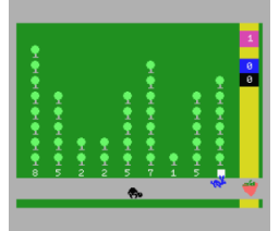 La Liebre y la tortuga (1985, MSX, Ace Software S.A.)