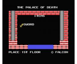 Palace of Death (1989, MSX, Falcon)