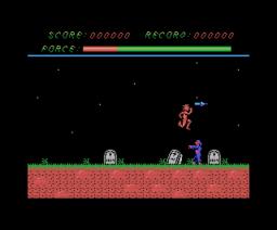 Demonia (1986, MSX, Microids)