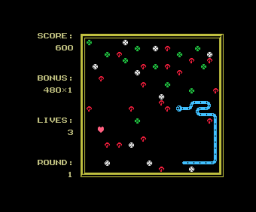 Snake It (1986, MSX, The Bytebusters)