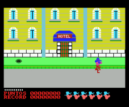 Cosa Nostra (1986, MSX, Opera Soft)