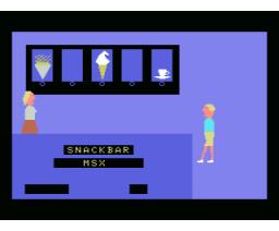 Snack-Bar (1986, MSX, H. Mak)