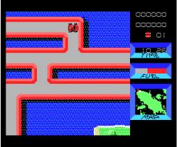 Rally (1986, MSX, ZAP)
