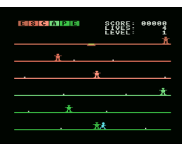 Escape (1985, MSX, Robert Carsouw)