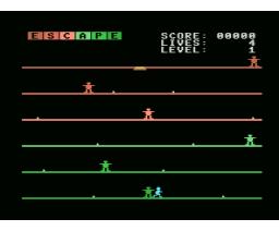 Escape (1985, MSX, Robert Carsouw)