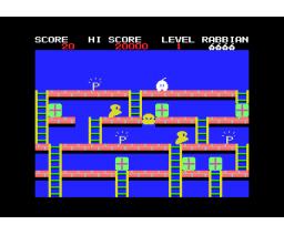 Rabbian (1985, MSX, Soft Pro)