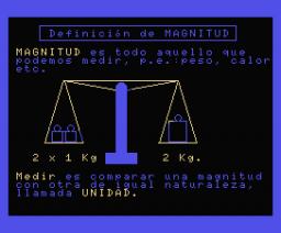 Física I - Magnitudes (1986, MSX, DAI)