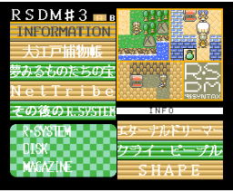RSDM#3 (1995, MSX2, Turbo-R, Syntax)