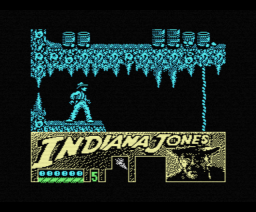 Indiana Jones and the Last Crusade (1989, MSX, US Gold, Lucasfilm)