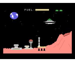 Misión Espacial (1985, MSX, J. Sánchez Armas)