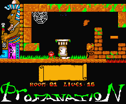 Profanation MSX2 (2006, MSX2, ICON Games)