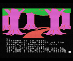 Jewels of Darkness (1986, MSX, Level 9 Computing)