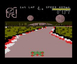 F-Nano 2 - 3D Car Action (1994, Turbo-R, XRay)