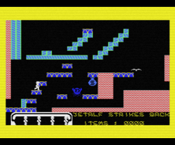 Jetalf Strikes Back (1985, MSX, Els)