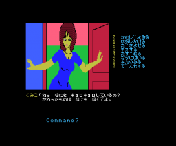 The Karuizawa Kidnapping Guidance (1986, MSX, ENIX)