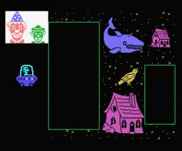 El Pescador Espacial 1 - Grande Mediano Pequeño (1986, MSX, Anaya Multimedia)