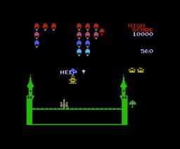 King & Balloon (1984, MSX, NAMCO)