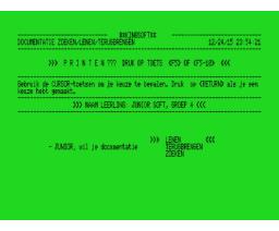 Dokistar (1987, MSX, Stark-Texel)