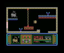 Sabotaje (1987, MSX, Genesis Soft)