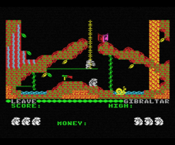 Auf Wiedersehen Monty (1987, MSX, Gremlin Graphics)