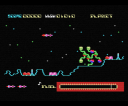 Star Avenger (1984, MSX, Sean Wallis)