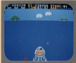 Action Boat (MSX, Konami)