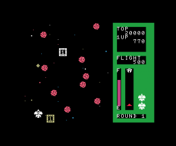 Space Trouble (1984, MSX, HAL Laboratory)
