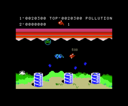 Poppaq The Fish (1984, MSX, Mass Tael)