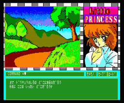 Wonderful Adventures of a Little Princess (1987, MSX2, Alice Soft)