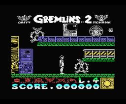 Gremlins 2: La Nueva Generación (1990, MSX, Topo Soft)
