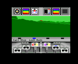 Koronis Rift (1986, MSX2, Pony Canyon, Activision)