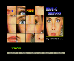Moving Squares (1989, MSX2, Archie J.)