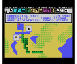 Sim City (2008, MSX, Amusement Factory)