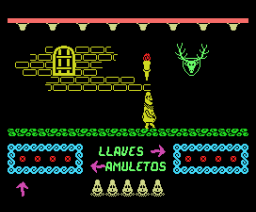 Knight Ghost (1987, MSX, Juliet Software)