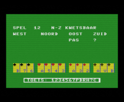 Bridge Spelenderwijs (1986, MSX, Bridge Soft)