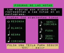 Música en Juego II - Figuras (1986, MSX, DAI)