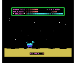 Mecano Oasis (1987, MSX, Grupo de Trabajo Software (G.T.S.))