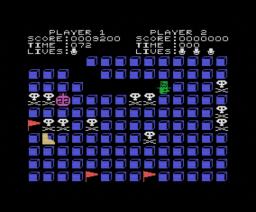 Grid Trap (1985, MSX, Livewire)