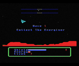 Desolator (1986, MSX, Gremlin Graphics)