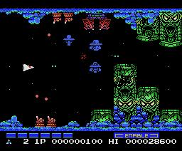 Gradius 2 (1987, MSX, Konami)