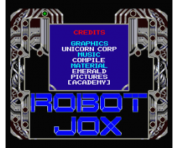 Robot Jox - Picture demo  (MSX2, The Unicorn Corporation)