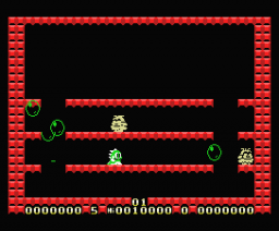 Super Bubble Bobble (1989, MSX, Zemina)